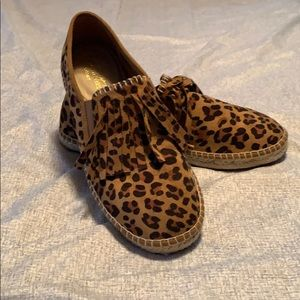 Ariat cheetah print shoes. Size 8.